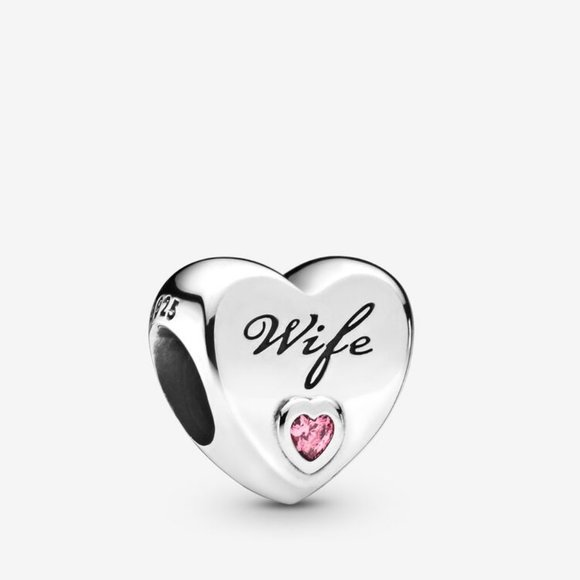 Pandora Jewelry - Pandora Wife Love Heart Charm
